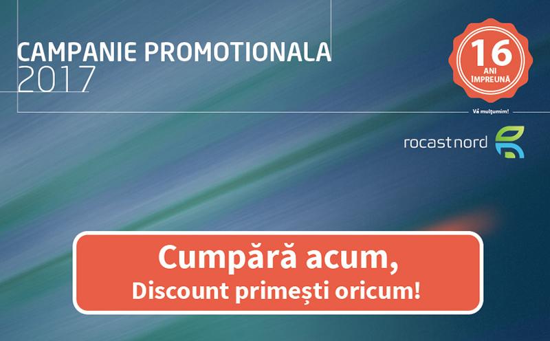 Promo Campanie Promotioanala 2016