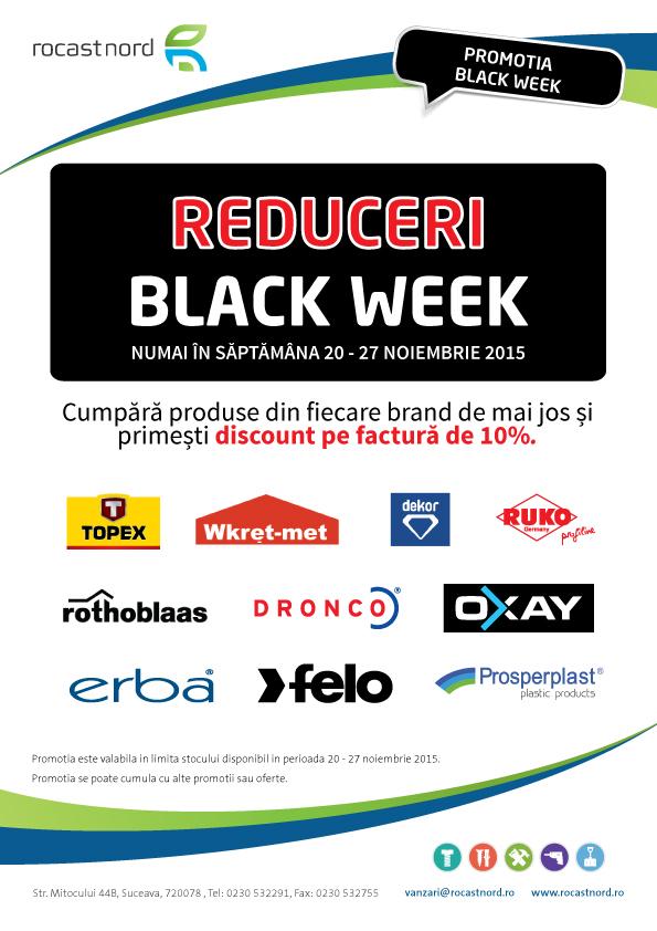 Promotia saptamanii BLACK